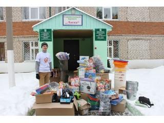 Благотворительная акция в Агрызском районе