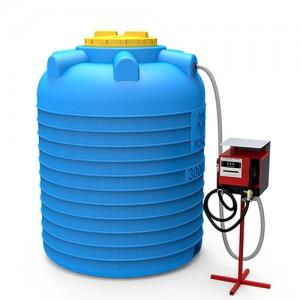 Мини АЗС вертикальная 3000 литров