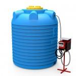 Мини АЗС вертикальная 5000 литров