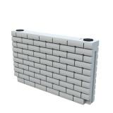 Ёмкость кирпичная стена 500 литров - Брик